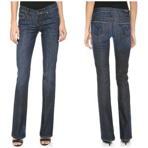 COH Kelly Stretch Low-Rise Bootcut sz 29 Blue